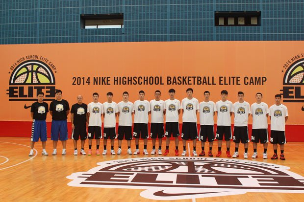 "Frank Allocco's ""De La Salle"" team in China."