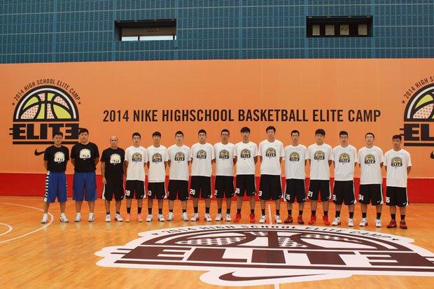 """Frank Allocco's """"De La Salle"""" team in China."""