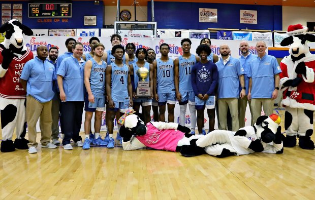 Dorman beat Greensboro Day in the final of the Chick-fil-A Classic last month.