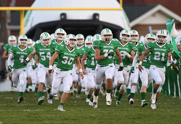 Mogadore (8-1) will face Rootstown (9-0) in a Week 10 meeting of state-ranked teams.