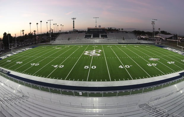 Bosco's Panish Family Stadium will be the site of Friday's showdown between high school football's top two teams.