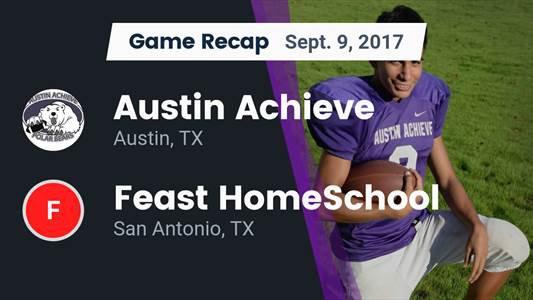 Football Game Preview: FEAST HomeSchool vs. Austin Achieve