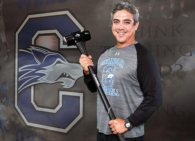 Head coach Shaun Aguano