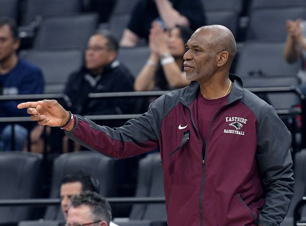 After coaching the girls basketball team to more than 250 wins and two state titles, Donovan Blythe is now also coaching the boys team at Eastside College Prep.