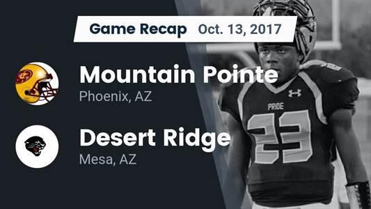 Football Game Preview: Mountain Pointe vs. Desert Ridge