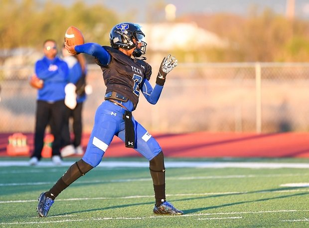 Shedeur Sanders is making a name for himself at Trinity Christian. The son of Deion Sanders, Shedeur has led his team to two TAPPS titles.