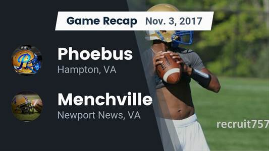 Football Game Preview: Hopewell vs. Phoebus