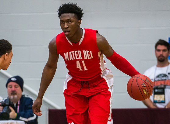 Stanley Johnson of No. 1-ranked Mater Dei (Santa Ana, Calif.) was one of 24 high school senior boys selected Wednesday to play in the McDonald's All-American Game.