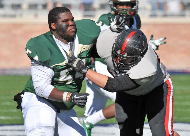 Bryce English and DeSoto look like they will do whatever it takes to get the state title.