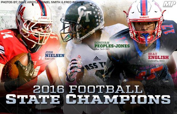 2016 High School Football State Champions Maxpreps