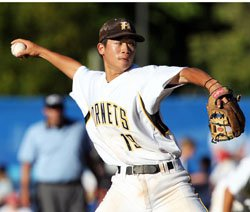 Alameda junior Trent Yee, who pitched a no-hitter last week, was scheduled to meet family and pitch next week.