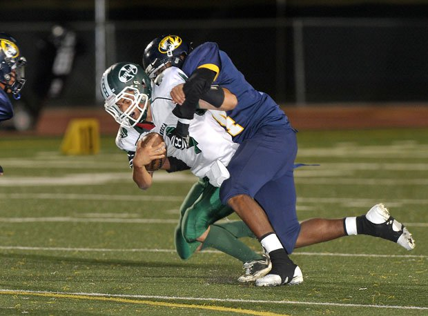 Inderkum wrapped up Manteca in its playoff opener and is still alive for a berth in a Regional Bowl Game.