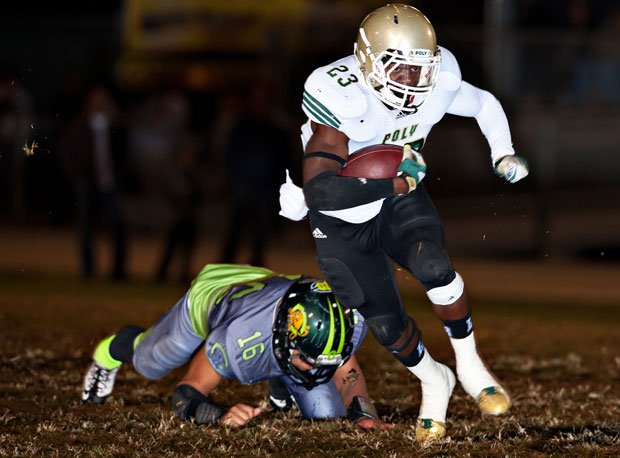 Gerard Wicks and Long Beach Poly pulled off an upset win over Mission Viejo last week to advance in the Pac-5 playoffs.