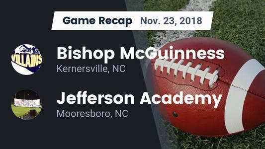 Football Game Recap Thomas Jefferson Classical Academy Vs