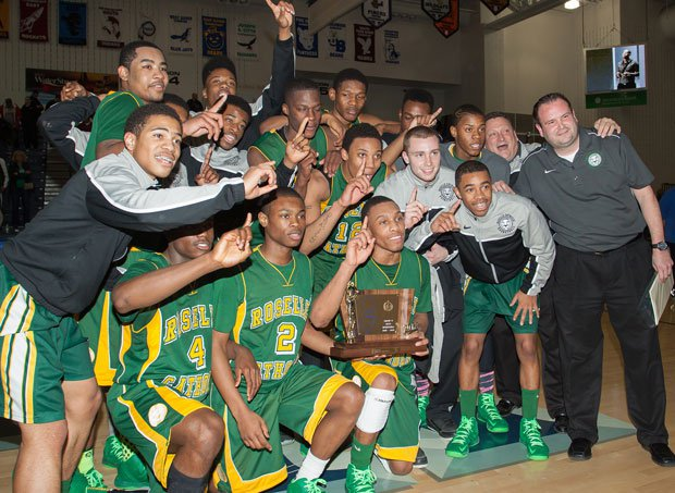 Roselle Catholic had reason to celebrate after knocking off St. Anthony in the playoffs last year.