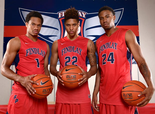 Rashad Vaughn (left), Kelly Oubre and Craig Victor could be the nation's most lethal trio of seniors.