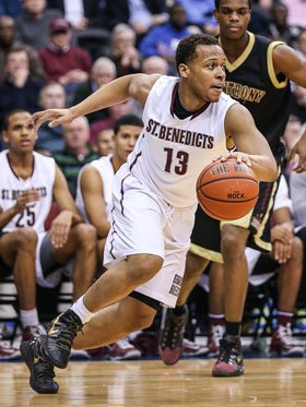 Isaiah Briscoe transferred to Roselle Catholic over the summer after two successful seasons at St. Benedict's Prep.