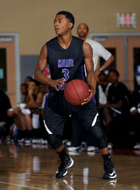 As a freshman, Alterique Gilbert led Miller Grove with 19 points in the state final.
