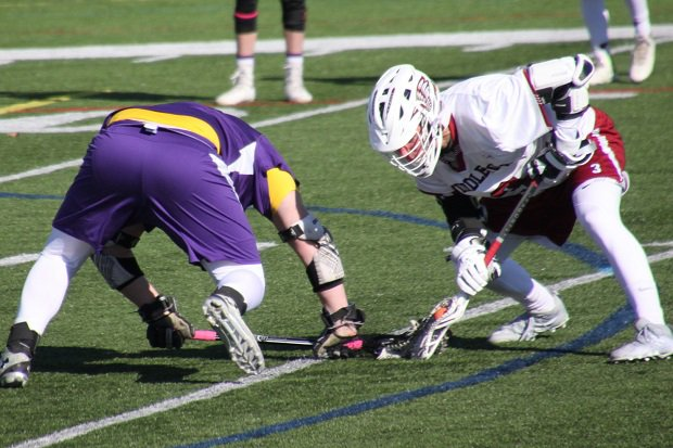 Middleton's Nathan Kapp is a faceoff specialist, dedicating himself to the unsung craft in lacrosse.