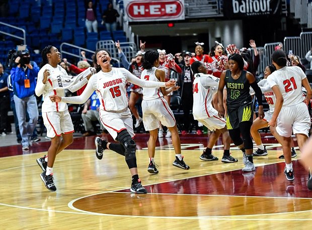 Judson won the Texas UIL 6A girls basketball title.