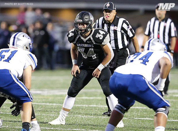 Westerville Central linebacker Zeke Healey was OPSWA D-I All-Ohio last season.