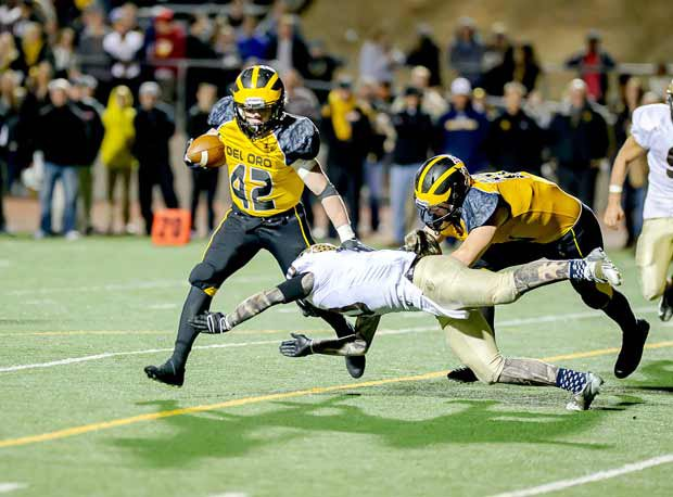 Dylan Kainrath led Del Oro Friday and will get a shot at a state title against Bakersfield.