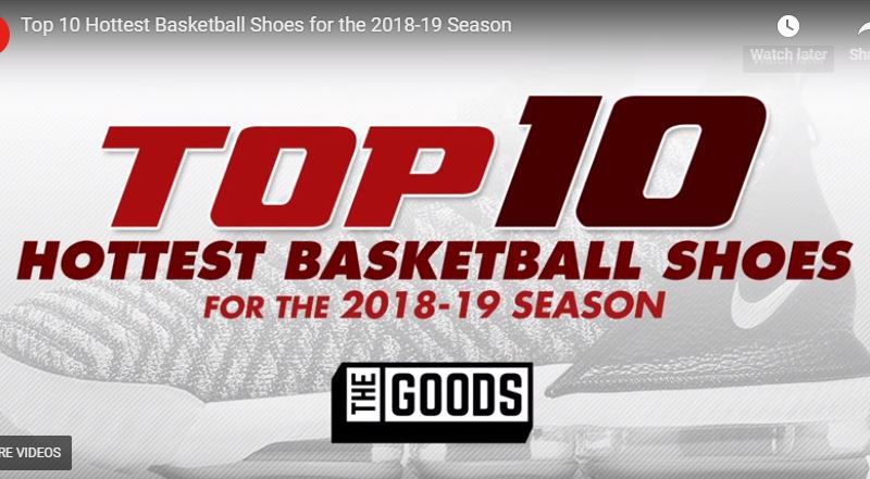 84f014d9fcfc Top 10 hottest basketball shoes for the 2018-19 season - MaxPreps