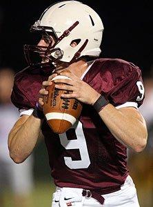 Don Bosco Prep quarterback Mike Yankovich.