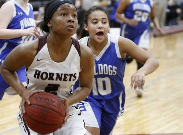 Sania Wells of East Central (Miss.) was third in the state in scoring as a junior and a four-year varsity player for the Hornets.
