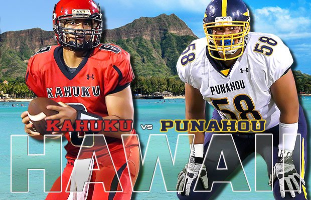 What's better than being a state champion? Being the champion of a beautiful state like Hawaii. Punahou and Kahuku will do battle for that distinction this week.