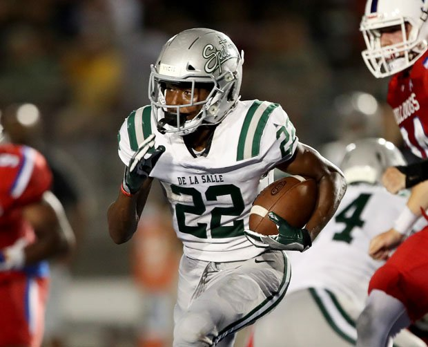 James Coby rushed for a team-high 110 yards and a touchdown last week in the win over Folsom.