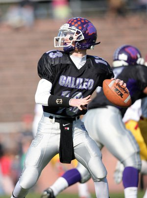 Galileo quarterback Kyle Nelson accounted for five more touchdowns, giving him 58 for the season.