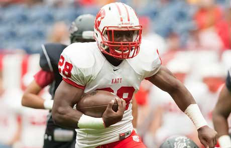 Adam Taylor's huge day lifted Katy over Steele in the Class 5A-II semifinal.