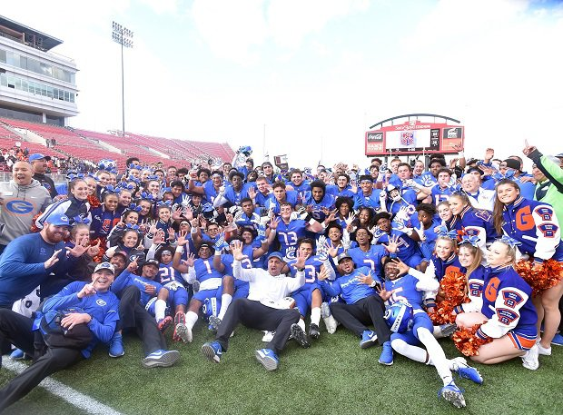 Bishop Gorman won its 10th straight Nevada 4A state title.