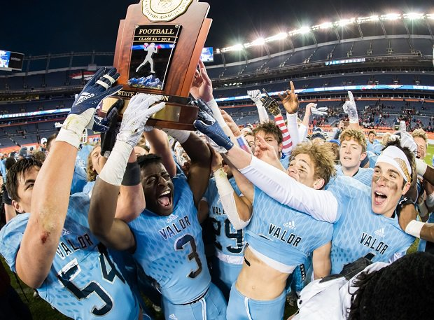 Valor Christian won the Colorado 5A state title.