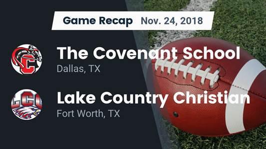 Football Game Recap: Lake Country Christian vs. St. Paul