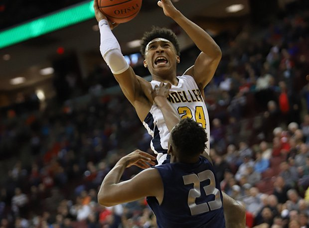 Moeller and senior Jeremiah Davenport (Wright State recruit) won the program's fourth state title.