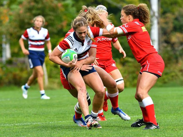 Megan Foster didn't learn how to play rugby until she entered Chico State.