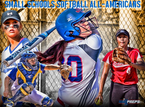 The MaxPreps 2014 Small Schools All-American Softball Team.