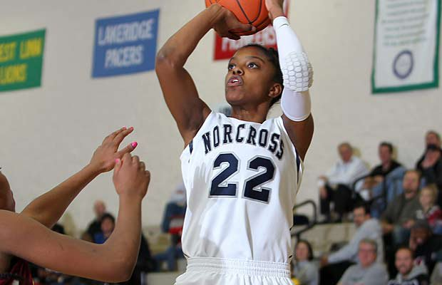 Norcross (Ga.) standout Diamond DeShields is one of 24 players to be chosen to play in the McDonald's All American Game in Chicago on April 3.