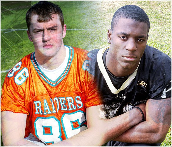 Two Top 100 recruits will be on the field Friday night in Jordan Prestwood (left) and James Wilder (right).