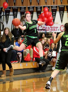 Megan Reid is an all-around player atMiramonte, doing the little things tohelp her team win.