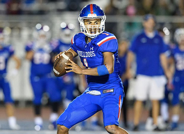 Folsom quarterback Kaiden Bennett has accounted for more than 4,800 yards and 62 touchdowns.