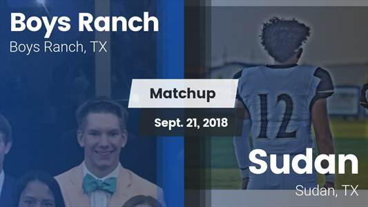 Football Game Recap: Sudan vs. Boys Ranch