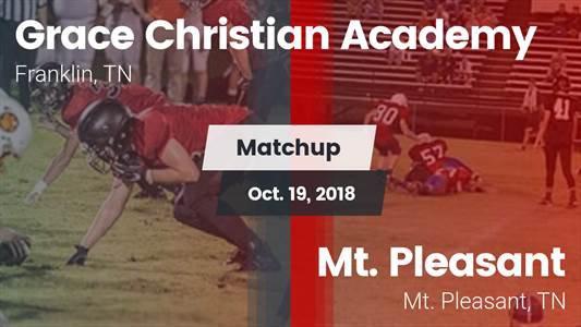 Football Game Recap: Mt. Pleasant vs. Grace Christian Academy