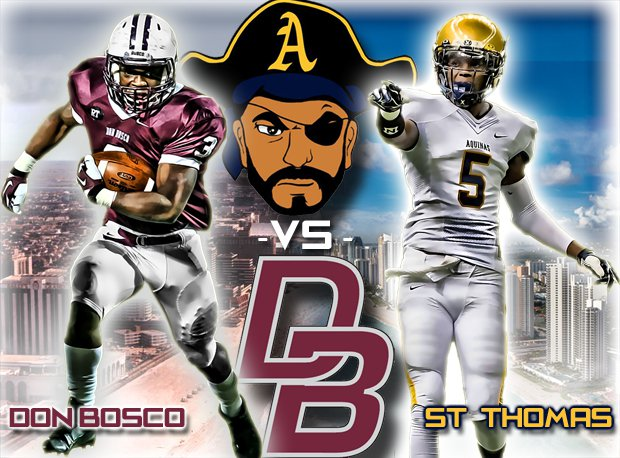 Don Bosco Prep versus St. Thomas Aquinas marks one of the biggest interstate matchups on 2014.