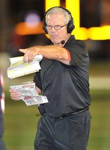 Euless Trinity coach Steve Lineweaver