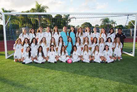 The dominant girls soccer team is a big reason why MaxPreps chose St. Thomas Aquinas as the nation's top athletic program.