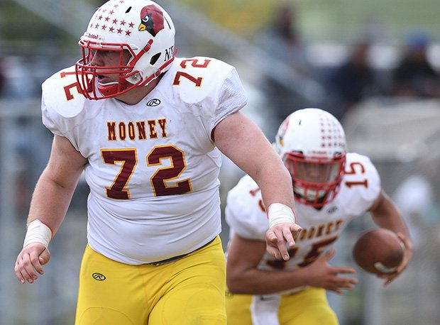 Mooney senior Kyle Jornigan holds 11 offers including Minnesota, Purdue, Pitt and Rutgers.