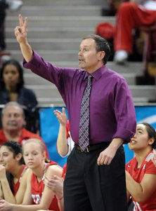 That's No. 1 coach, not No. 2.  Kevin Kiernan's Mater Dei team took first in the top division  of Nike TOC.